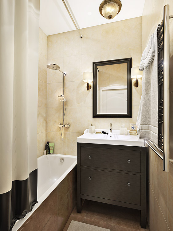 Дизайн квартиры в классическом стиле в ЖК Медовая долина