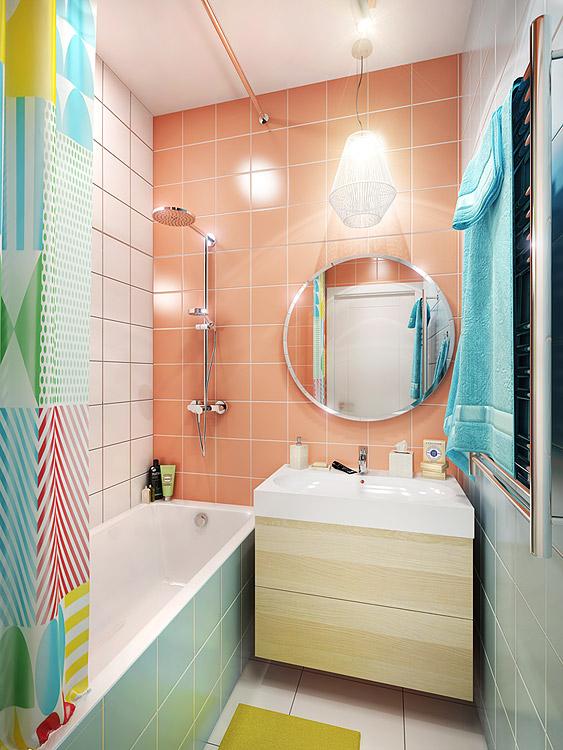 Дизайн квартиры в стиле фьюжн в ЖК Медовая долина