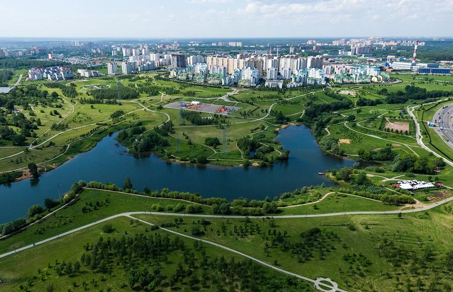 Район Митино СЗАО в Москве