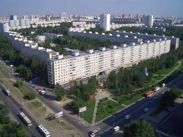 Район Северное Тушино СЗАО в Москве
