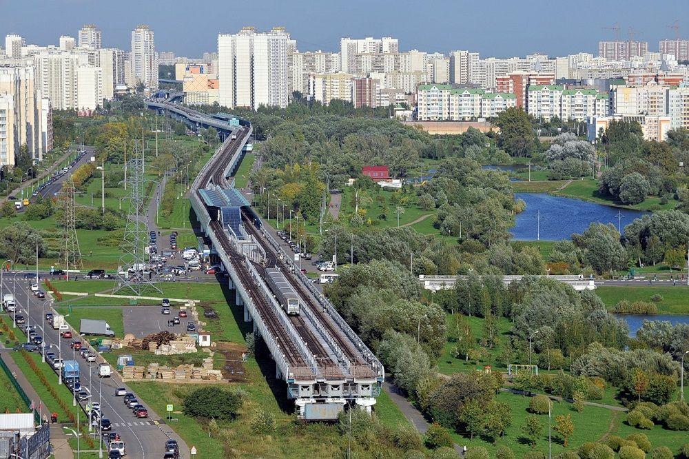 Один из районов Москвы